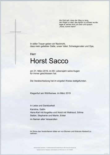 Horst Sacco