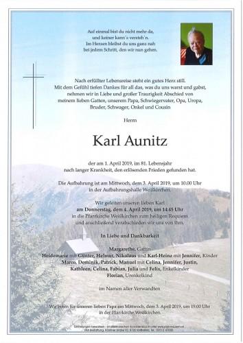 Karl Aunitz
