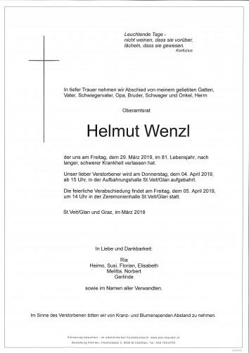 Helmut Wenzl