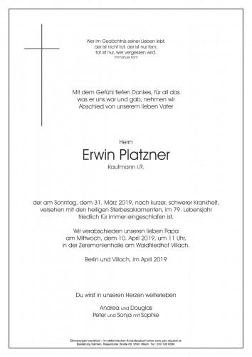 Erwin Platzner