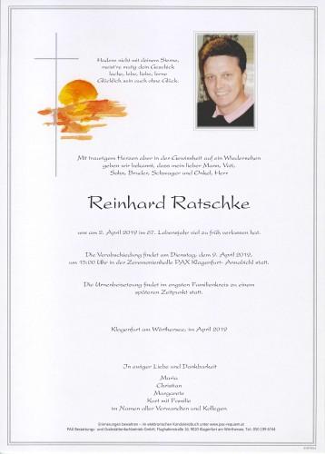 Reinhard Ratschke