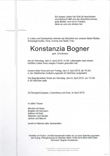 Konstanzia Bogner