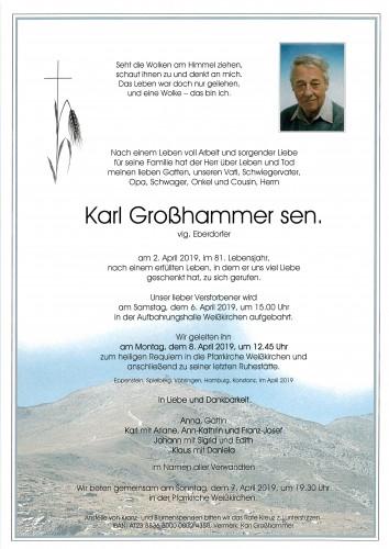 Karl Großhammer sen., vlg. Eberdorfer