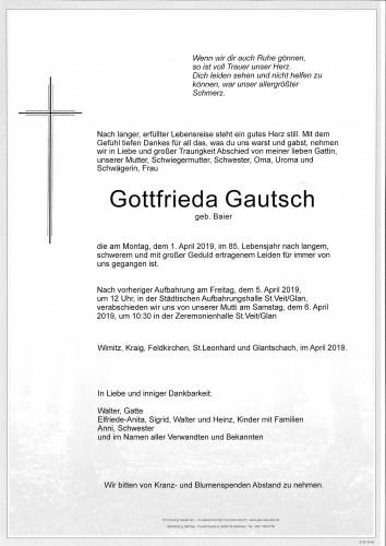 Gottfrieda Gautsch
