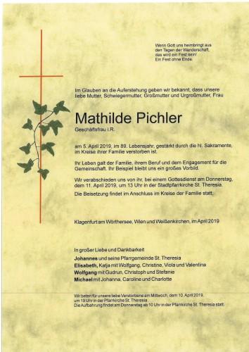 Mathilde Pichler