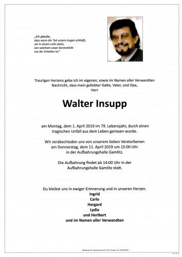 Walter Insupp