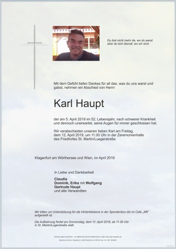 Karl Haupt