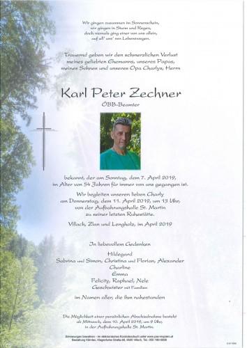 Karl Peter Zechner