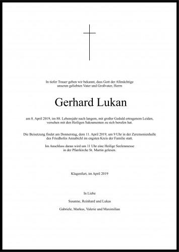 Gerhard Lukan