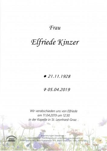 Elfriede Kinzer
