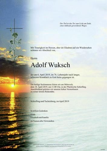 Adolf Wuksch