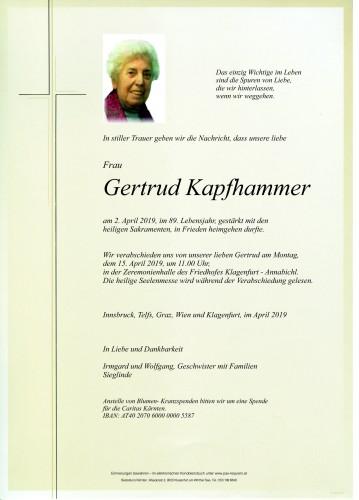 Gertrud Kapfhammer