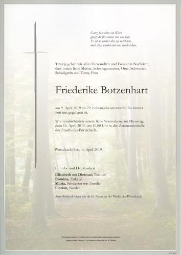 Friederike Botzenhart