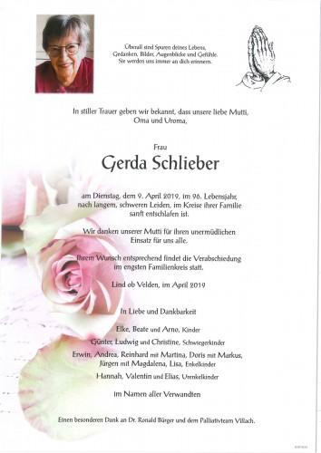 Gerda Schlieber