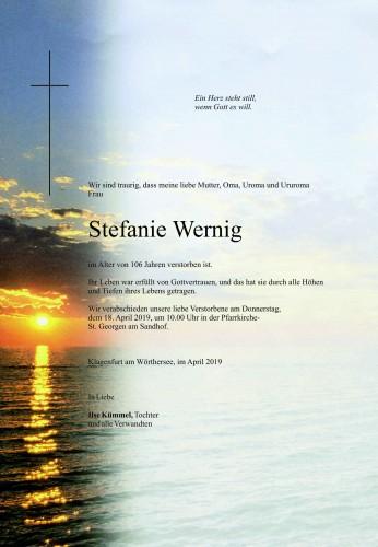 Stefanie Wernig