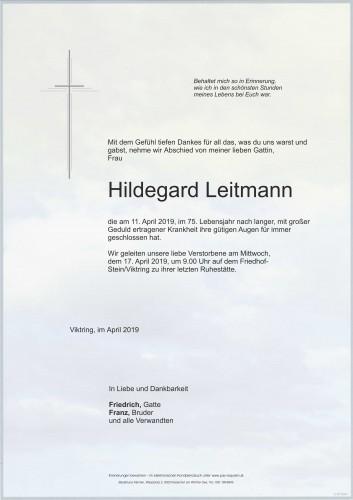 Hildegard Leitmann