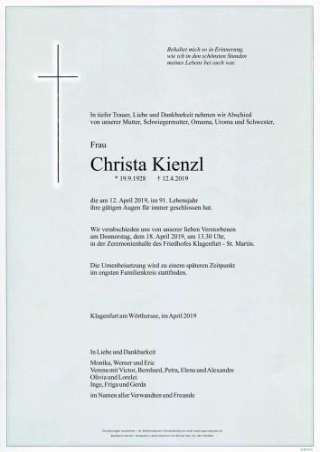 Christa Kienzl