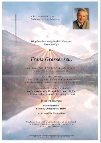 Franz Grasser sen.