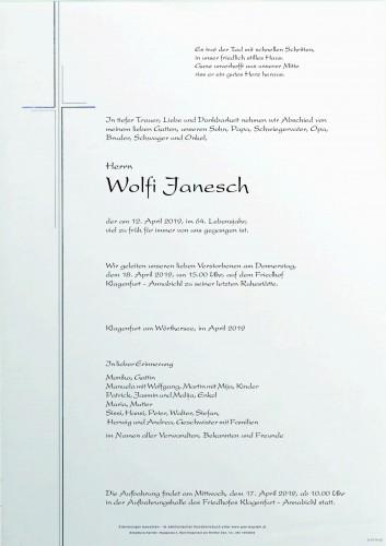 Wolfi Janesch