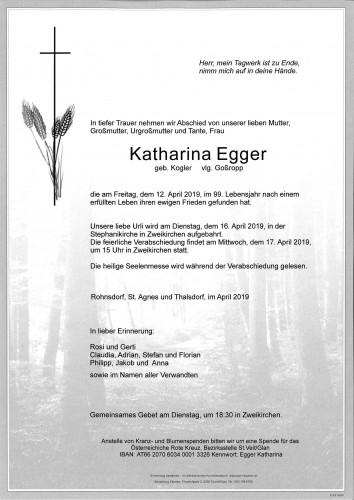 Katharina Egger