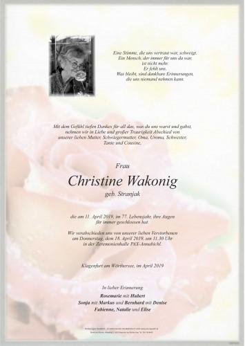 Christine Wakonig