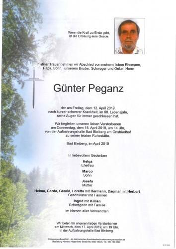 Günter Peganz