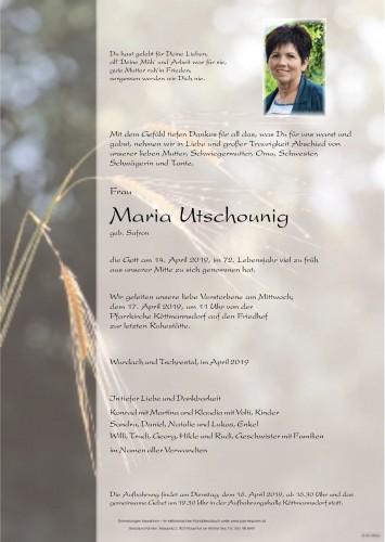 Maria Utschounig