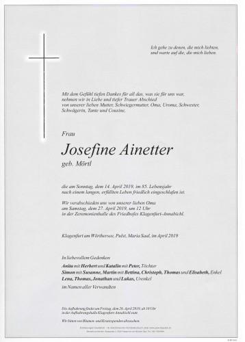 Josefine Ainetter