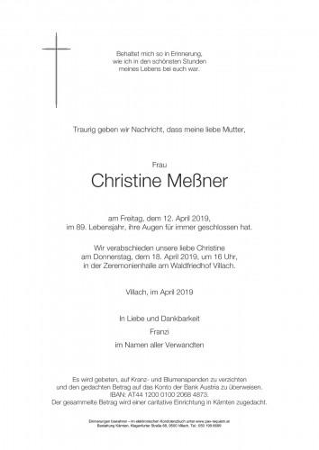 Christine Meßner