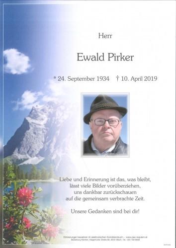 Ewald Pirker
