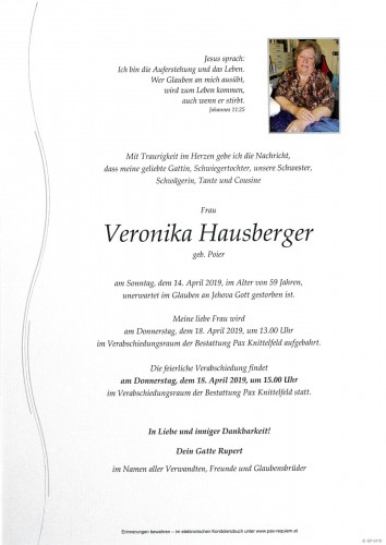 Veronika Hausberger