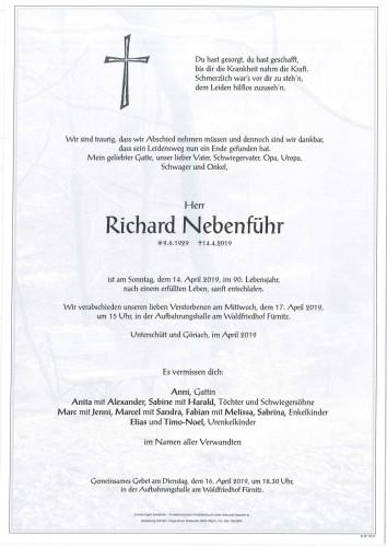 Richard Nebenführ