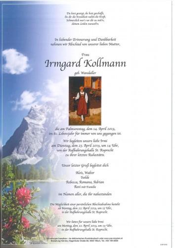 Irmgard Kollmann