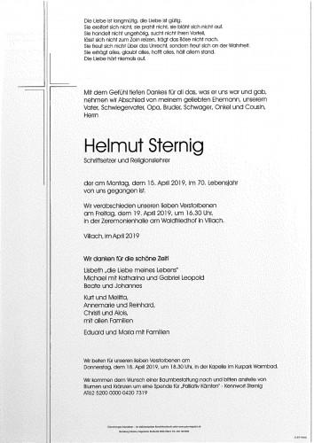 Helmut Sternig