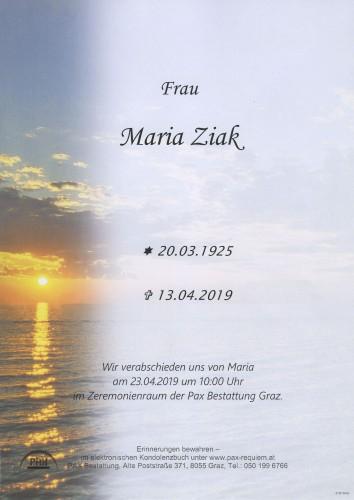 Maria Ziak