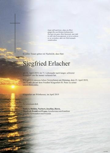Siegfried Erlacher
