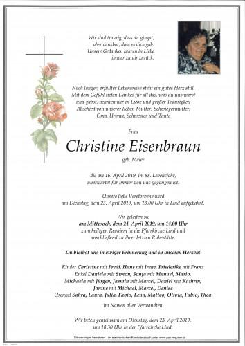 Christine Eisenbraun