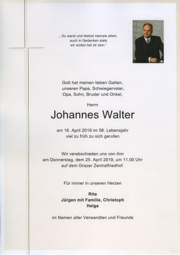 Johannes Walter