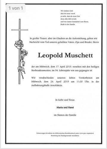 Leopold Muschett