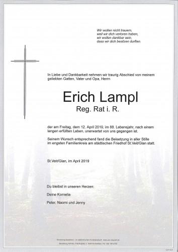 Reg. Rat. Erich Lampl