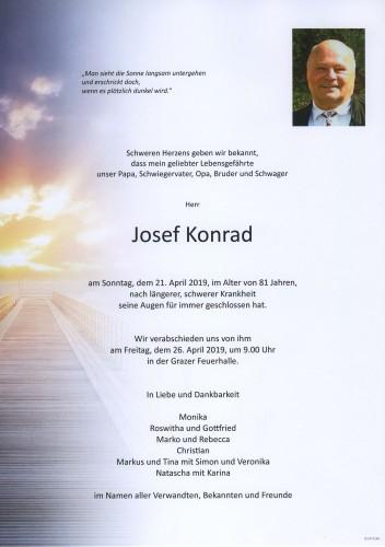 Parte Für Josef Konrad Pax Requiem