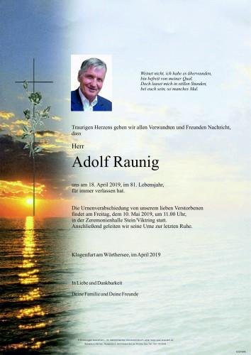 Adolf Raunig
