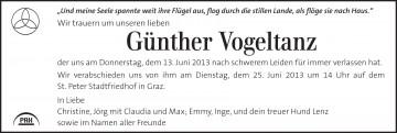 Günther Vogeltanz