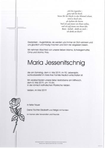 Maria Jessenitschnig