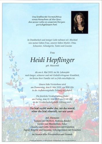 Heidi Hepflinger