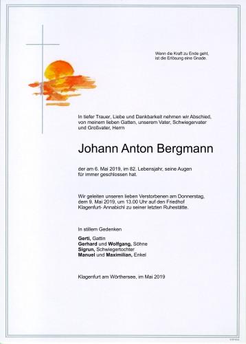 Johann Anton Bergmann