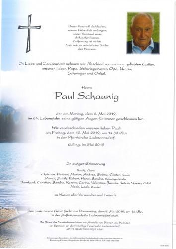 Paul Schaunig