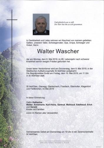 Walter Wascher