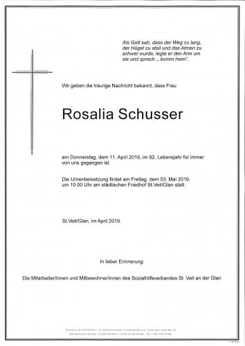 Rosalia Schusser