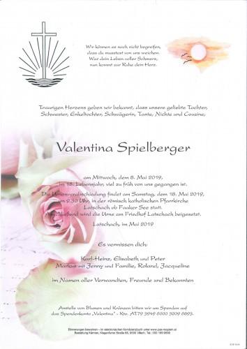 Valentina Spielberger